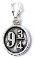 Official Harry Potter Platform 9 3/4 Clip on Charm WB0011