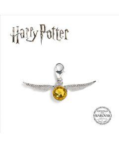 Harry Potter Embellished with Swarovski® Crystals Golden Snitch Clip on Charm- HPSC004