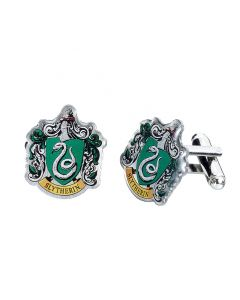 Harry Potter Slytherin Crest Cufflinks HC0023