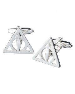 Harry Potter Deathly Hallows Cufflinks in Blue Packaging- HC0054-BLU