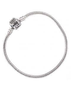 Harry Potter Silver Plated Bracelet for Slider Charms 19cm - HP0028-19