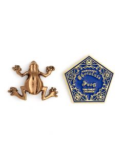 Harry Potter Chocolate Frog Pin Badge- HPPB157