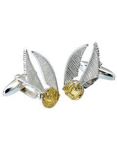 Harry Potter Sterling Silver Golden Snitch Cufflinks CC0004