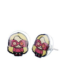 Harry Potter Luna Lovegood Chibi Stud Earrings- WEC081