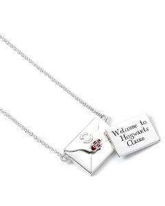 Official Harry Potter Sterling Silver personalised acceptance letter - NNP0017-P
