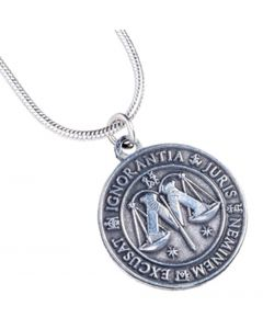 Harry Potter Ministry of Magic Symbol Necklace Discontinued WN0036