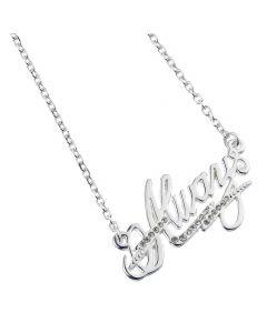 Harry Potter Embellished with Swarovski® Crystals Always Necklace - HPAN015