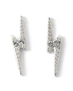 Harry Potter Lightning Bolt Stud Earrings with Swarovski Crystal Elements - HPSE105