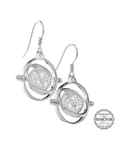 Harry Potter Embellished with Swarovski® Crystals Time Turner Earrings HPSE021
