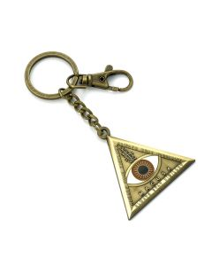 Fantastic Beasts Triangle Eye Keyring KR0004