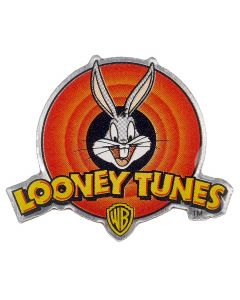Looney Tunes Bugs Bunny Logo Pin Badge LTPB012