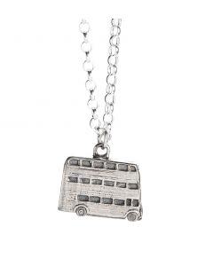 Official Harry Potter Knight Bus Charm Necklace in Sterling Silver NN0012