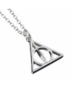 Official Sterling Silver Harry Potter Deathly Hallows Necklace - NN0054