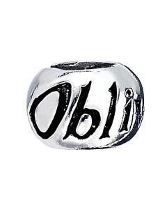 Official Harry Potter Sterling Silver Spell Bead - Obliviate- SB0004