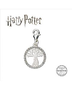 Harry Potter Embellished with Swarovski® Crystals Whomping Willow Clip on Charm- HPSC003