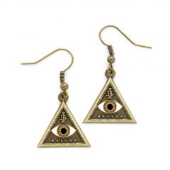 Fantastic Beasts Triangle Eye Earrings FE0004