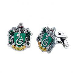 Harry Potter Slytherin Crest Cufflinks HC0023