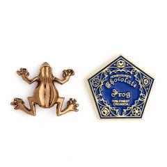 Harry Potter Chocolate Frog Pin Badge- HPPB157