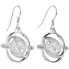 Harry Potter Time Turner Drop Earrings with Crystal Elements - HPSE021