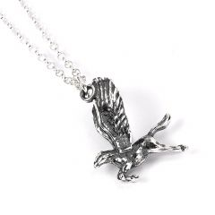 Official Harry Potter Sterling Silver Buckbeack Necklace- NN0094