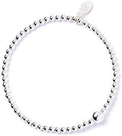 Sterling Silver Ball Bead Bracelet