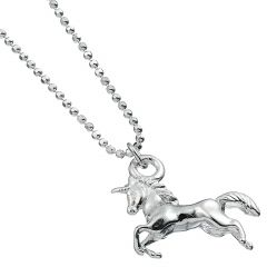 Sterling Silver Necklace with Unicorn Charm