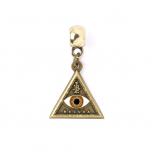 Fantastic Beasts Triangle Eye Slider Charm FC0004