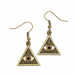 Fantastic Beasts Triangle Eye Earrings FE0004