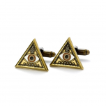 Fantastic Beasts Triangle Eye Cufflinks FM0004