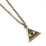 Fantastic Beasts Triangle Eye Necklace FN0004