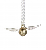 Harry Potter Golden Snitch Charm Necklace in Sterling Silver NN0004