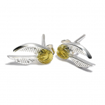 Official Sterling Silver Harry Potter Golden Snitch Stud Earrings- SE0004