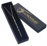 Professor Dumbledore Sterling Silver Wand Necklace