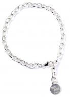 Official Harry Potter Charm Bracelet Sterling Silver - Adult - NN0044-A