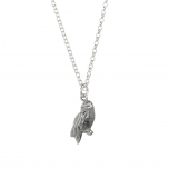 Harry Potter Sterling Silver Hedwig Necklace-NN0046