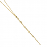 9ct Gold Professor Dumbledore Wand Necklace