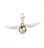 Official Harry Potter Golden Snitch Clip on Charm WB0004