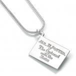 Harry Potter Hogwarts Acceptance Letter Necklace - WN0017