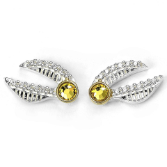 Harry Potter Golden Snitch Stud Earrings with Crystal Elements - BHPSE004