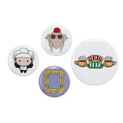 Official Friends Monica Button Badge Set FTB0008