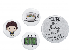 Official Friends Chandler Button Badge Set FTB0011