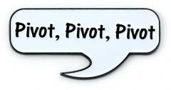 Official Friends The TV Series Pivot, Pivot Pin Badge FTPB0008