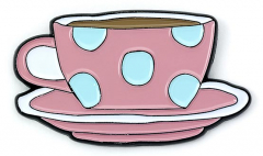 Official Friends The TV Series Coffee Cup Pin Badge FTPB0004
