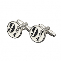 Harry Potter Platform 9 3/4 Cufflinks- HC0011-BLU