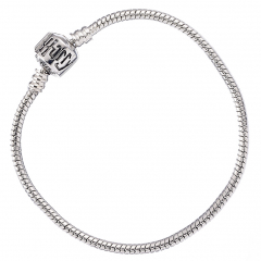 Harry Potter Silver Plated Charm Bracelet 20cm -HP0028-20