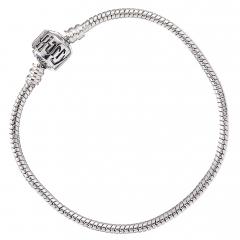 Harry Potter Silver Plated Charm Bracelet 21cm - HP0028-21