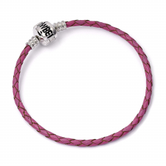Harry Potter M Pink Leather Bracelet for Slider Charms- HP0117-BLU
