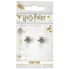 Harry Potter Deathly Hallows Charm Stopper Set of 2 HP0131