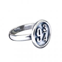 Official Harry Potter Platform 9 3/4 Ring RR0011-Medium