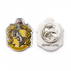 Hufflepuff Crest Pin Badge HPPB024